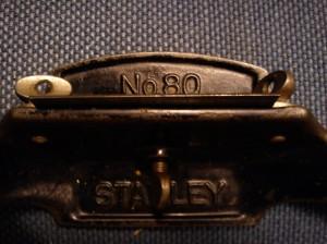 Stanley No. 80 cabinet scraper