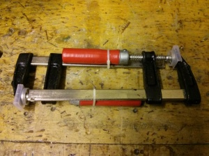 Small F-clamps