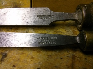 Cast steel chisels