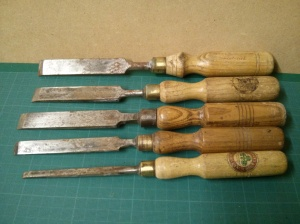 Marples and Footprint chisels