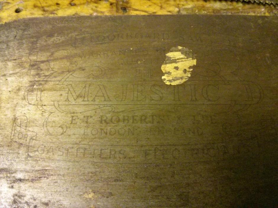 Floorboard saw