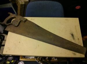 Spear & Jackson handsaw